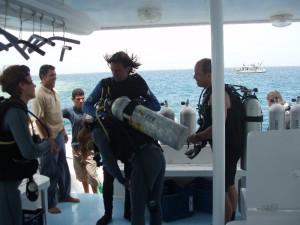 Dykning i El Gouna